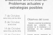 Didáctica universitaria: Problemas actuales y estrategias posibles