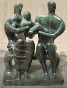 Family Group Henry Moore 1949 Tate Britain